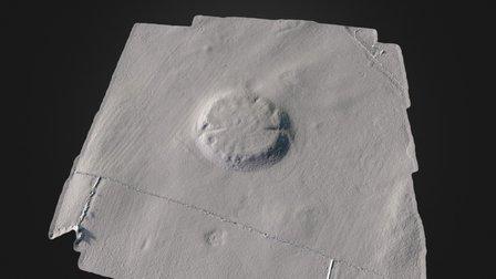 Rathcroghan Complex - Rathcroghan Mound 3D Model