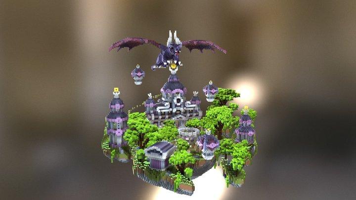 Violet Sky Spawn 3D Model