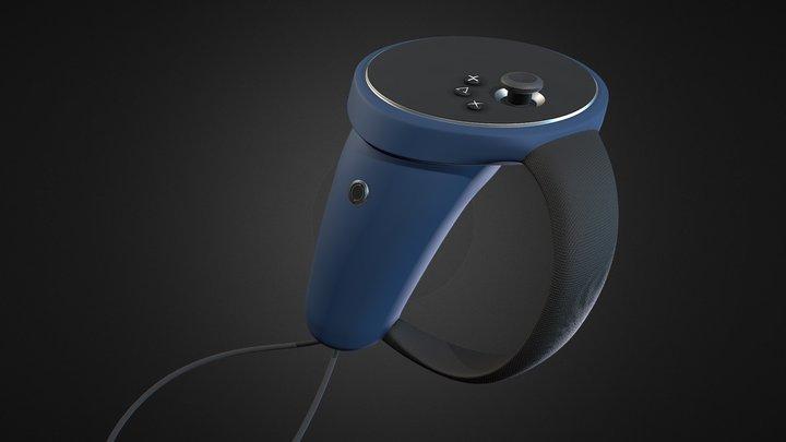 VR Controller 3D Model