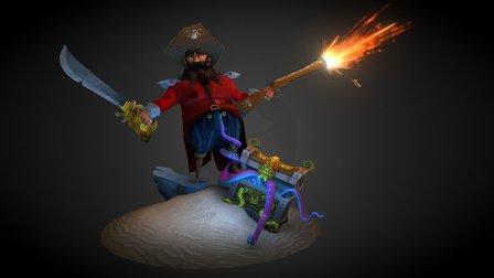 Pirate_A 3D Model