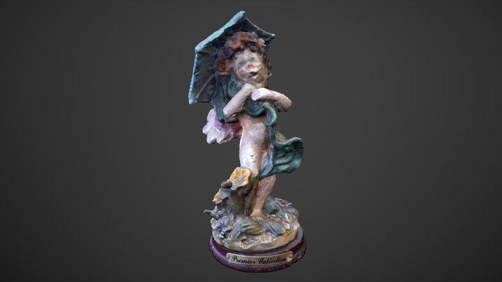 Estatuilla 01 3D Model