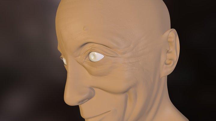 Gueshe Kelsang Gyatso 3D Model