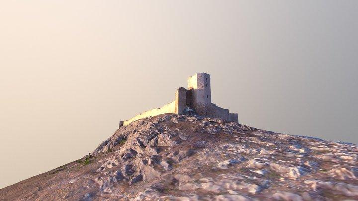 Enisala Fortress Romania 3D Model