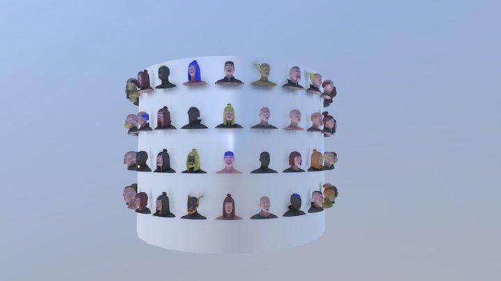 Slowgames Character test 3D Model