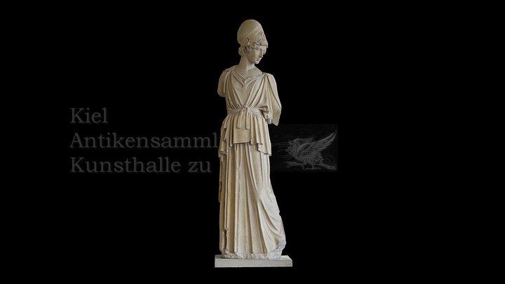 Athena des Myron 3D Model