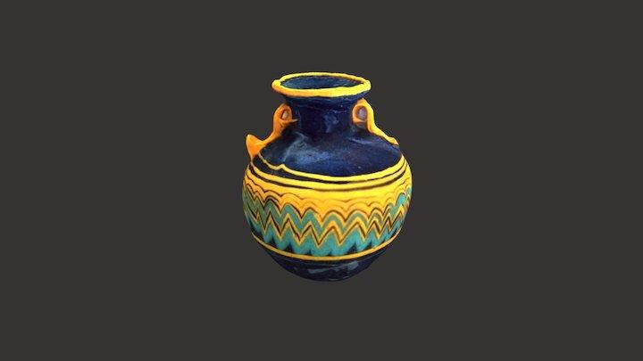 Aríbalo egiptizante 3D Model