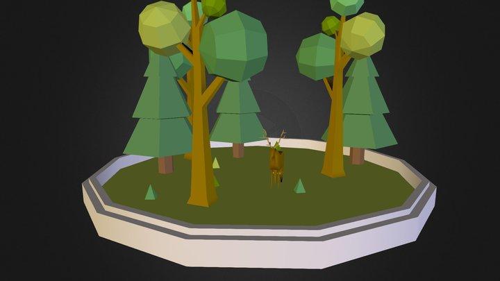 Parque / Park 3D Model