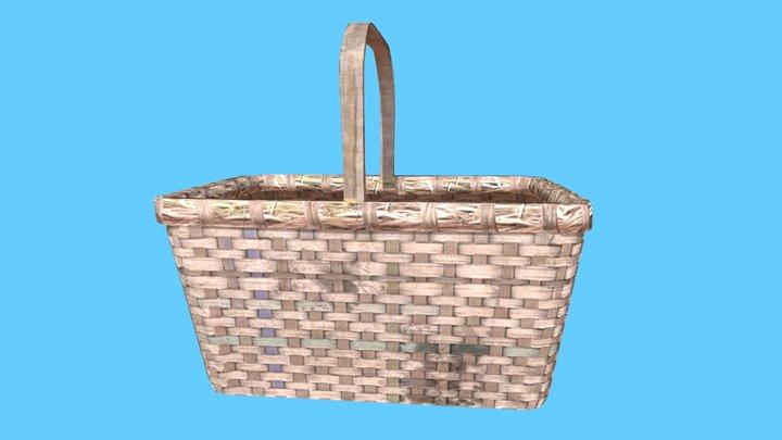 Ash Basket 3D Model