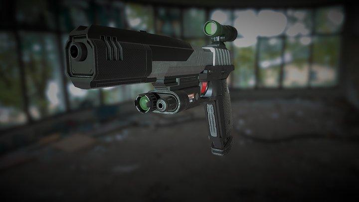 Smart Pistol Wip 3D Model