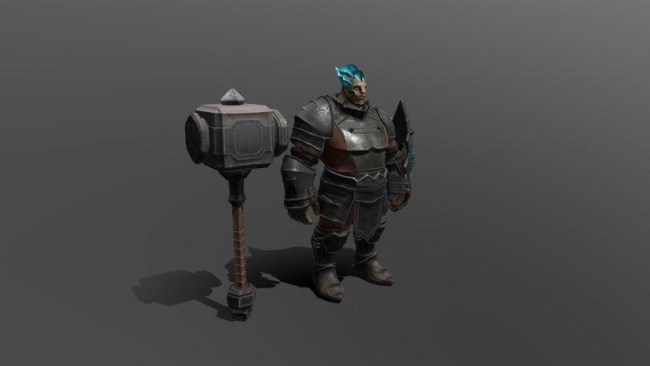 Character Hammer 01 3D Model