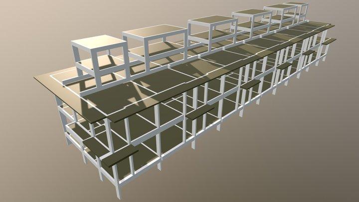 DCachoeira 3D Model