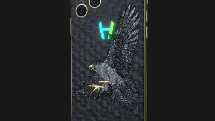 Hadoro iPhone 11 Pro | Hunting Falcon 3D Model