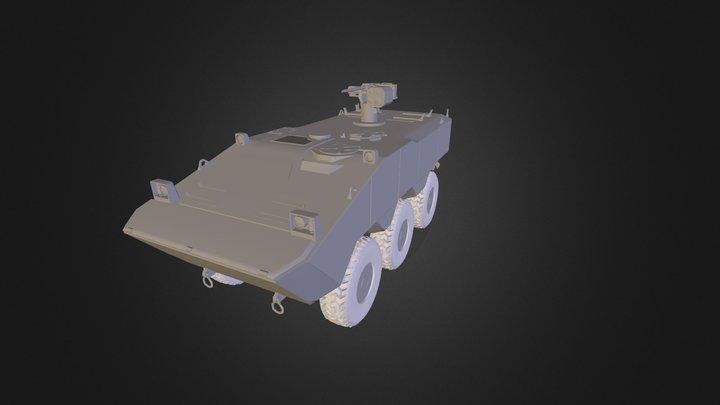 SuperAV - Guarani 3D Model