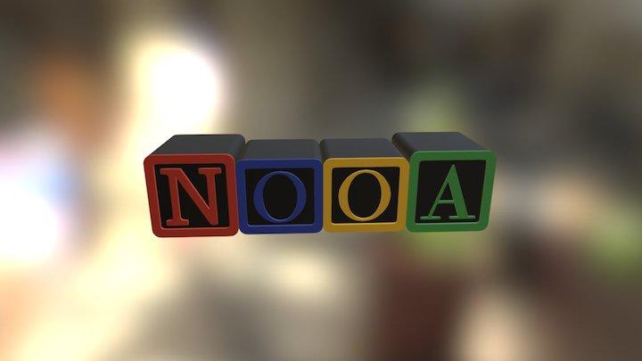 Campus NooA Logo 3D Model