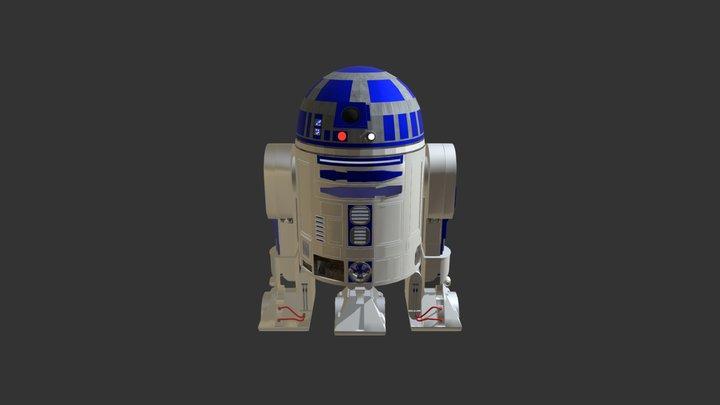 R2D2 3D Model