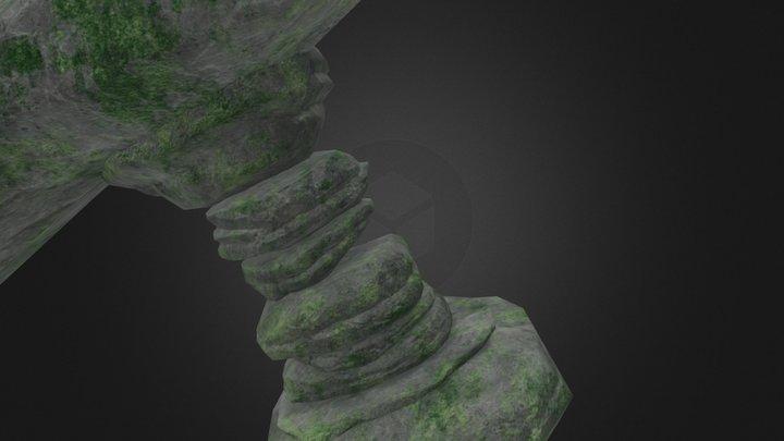 Rock Moss Practice 3D Model