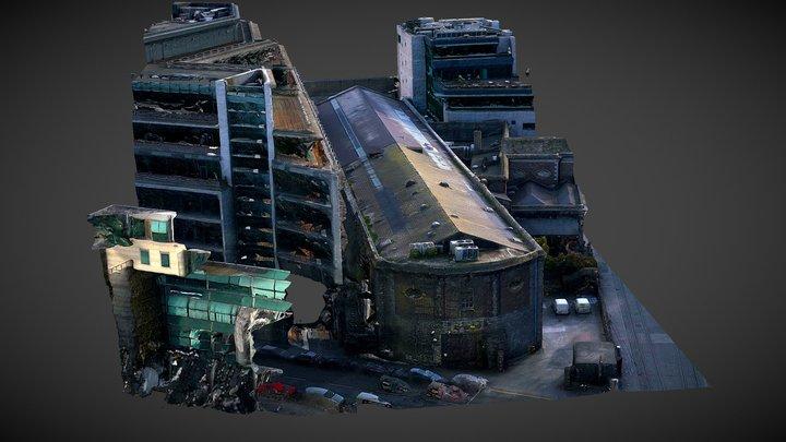 The POD - Harcourt Street - Dublin 3D Model