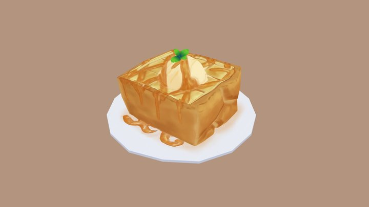 Honey Toast 3D Model