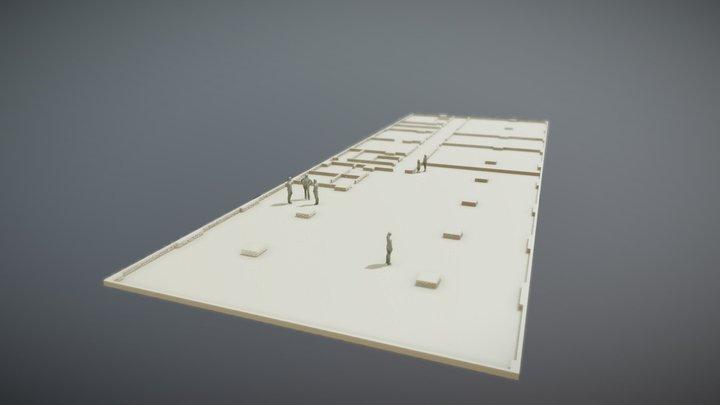 tastmodell_grundriss_sketchfab_1_SC 3D Model