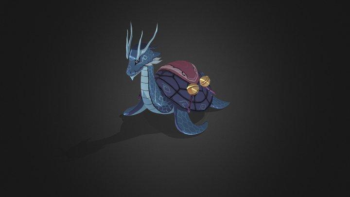 Dragon mirage turtles tortoise 3D Model