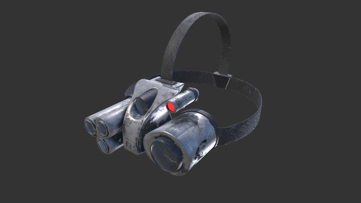 Sci-fi goggles 3D Model