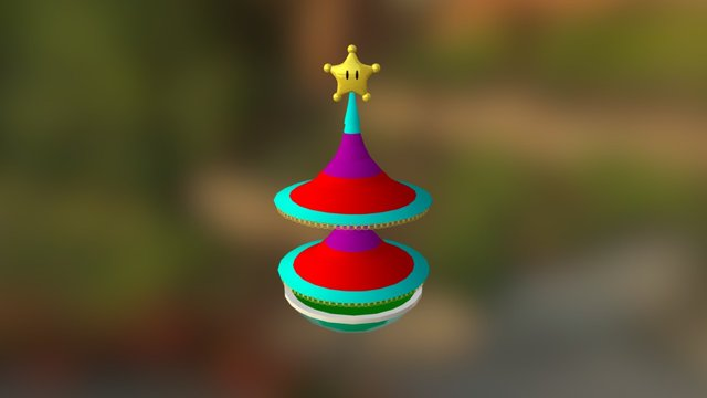Shine Comet 3D Model