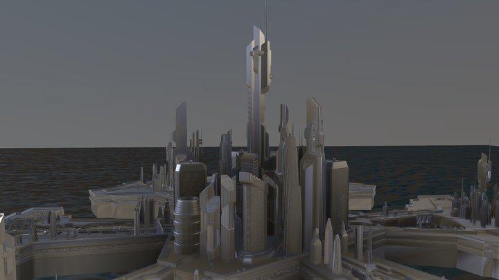 Stargate Atlantis 3D Model