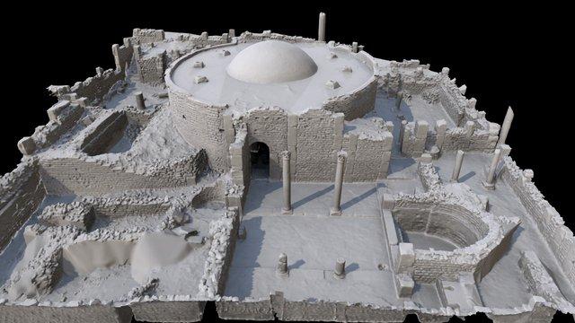 Baptistry, Djémila, Algeria 3D Model