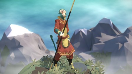 Journey from the East 3D Model