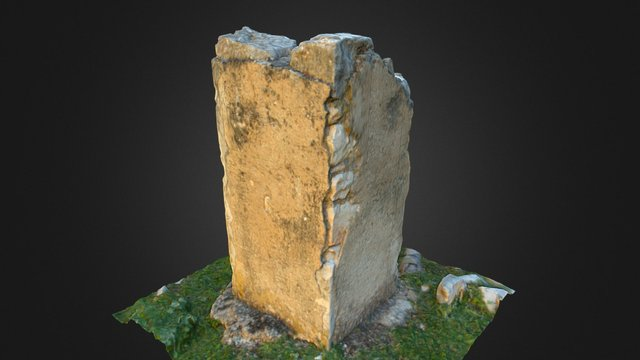 Pilar en ruinas 3D Model