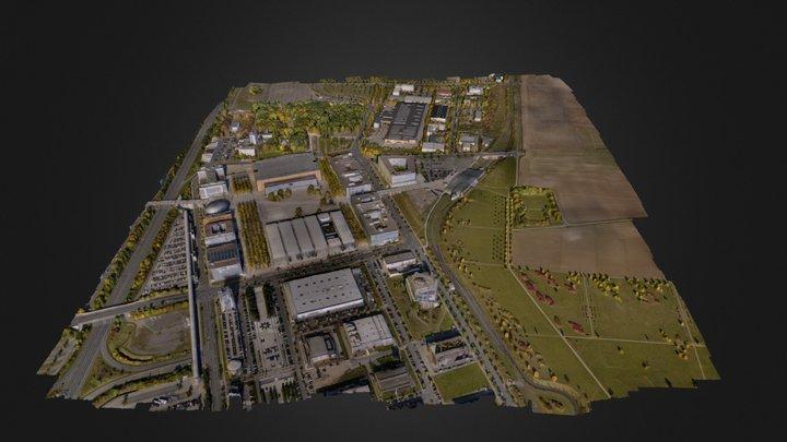 Hanover Expo 3D Model