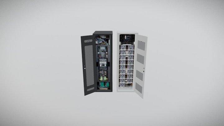 Vertiv LiiOn and Samsung Lithium 3D Model