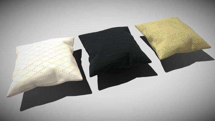 Pillow (OBJ) 3D Model