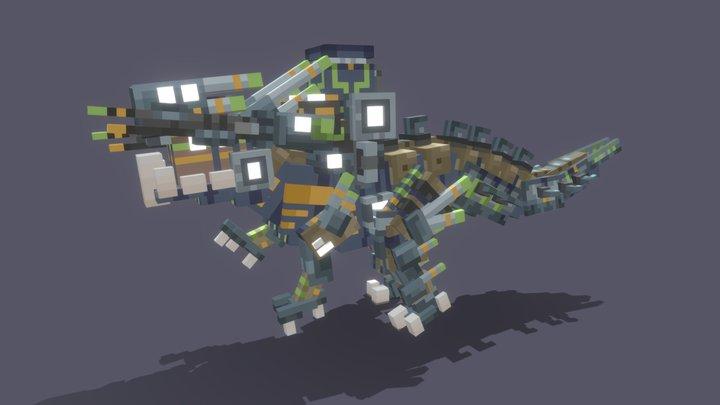 Mecha Dinosaur 3D Model