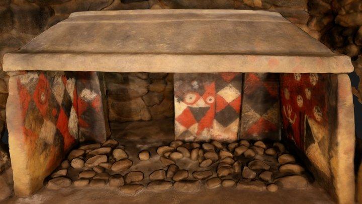チブサン古墳石室(装飾古墳館レプリカ) 3D Model