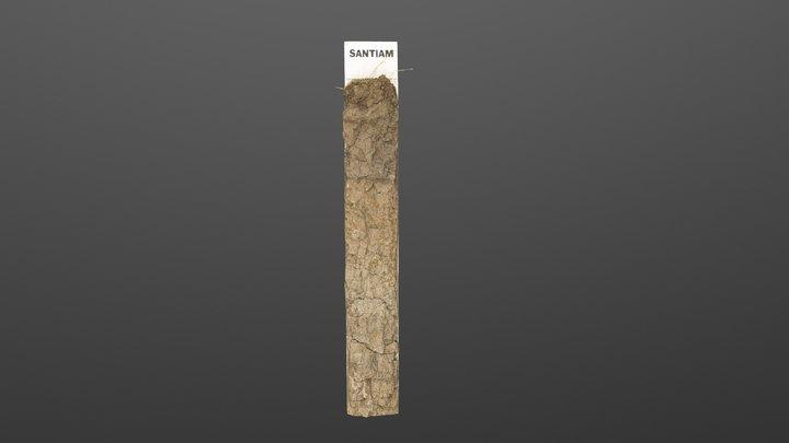 Santiam Series Monolith 3D Model