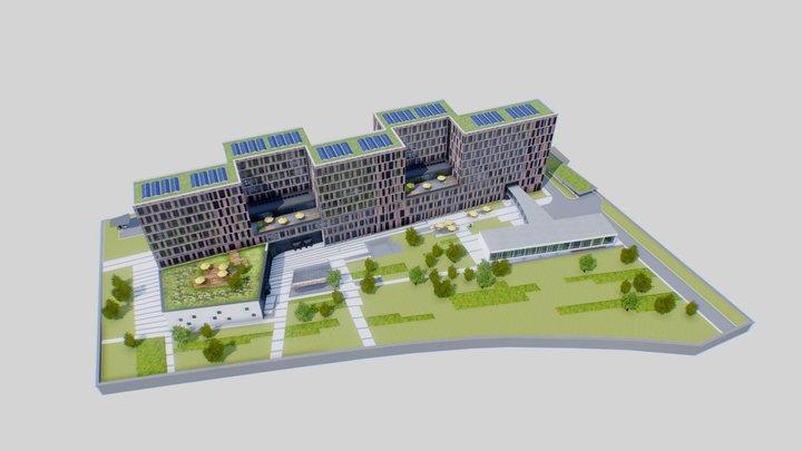 Frankfurt School 3D Model