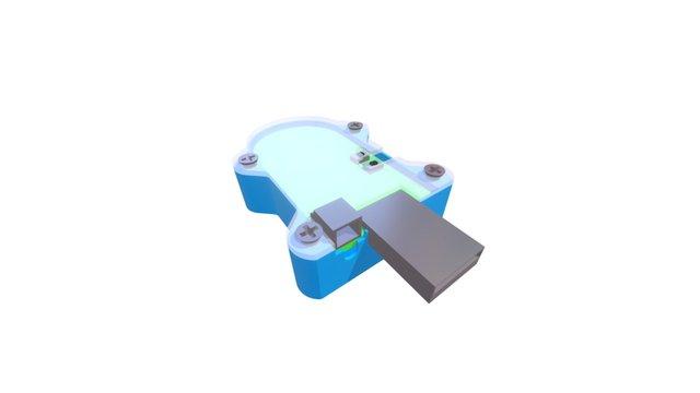 eMotion Stage Performance Sensor 3D Model