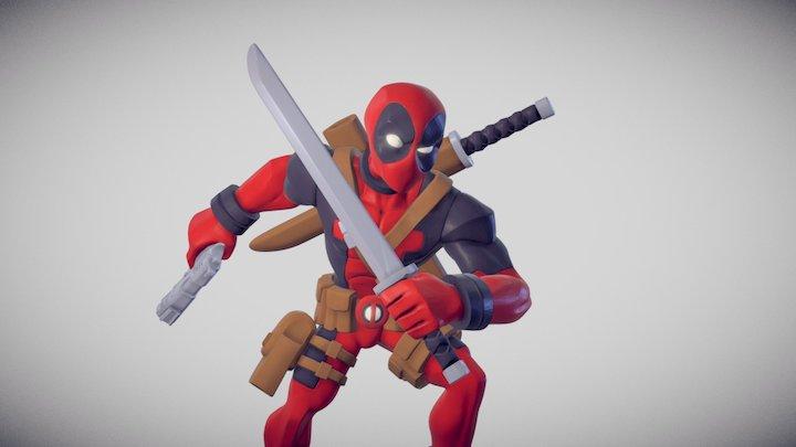 Infinity Deadpool 3D Model