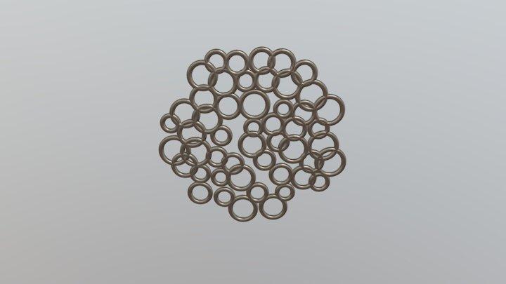 Bubble Pendant 3D Model