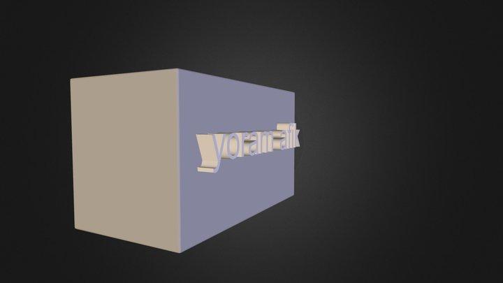 ADVIL.3DS 3D Model