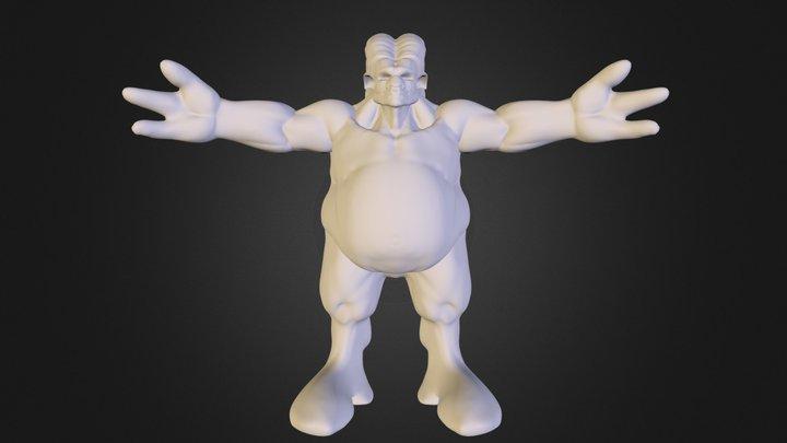 Bull_Smith.OBJ 3D Model
