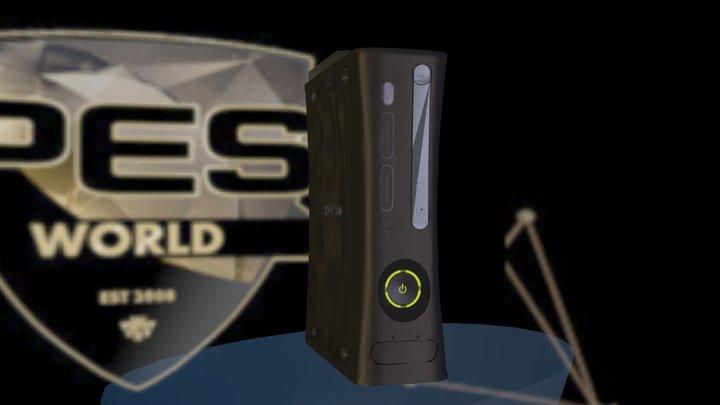 Xbox 360 PESW 3D Model