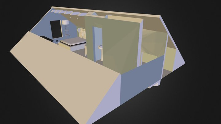 Our Attic (Re-Modeled) 3D Model