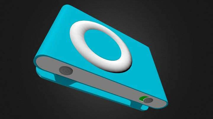 iPod Shuffle 2nd Gen 3D Model