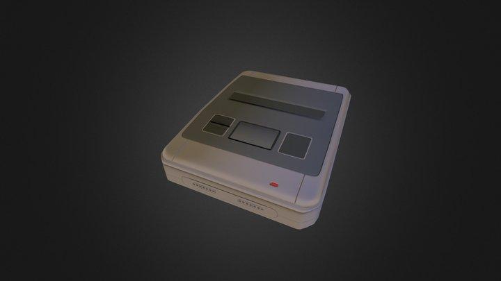 SNES_LowPoly.obj 3D Model