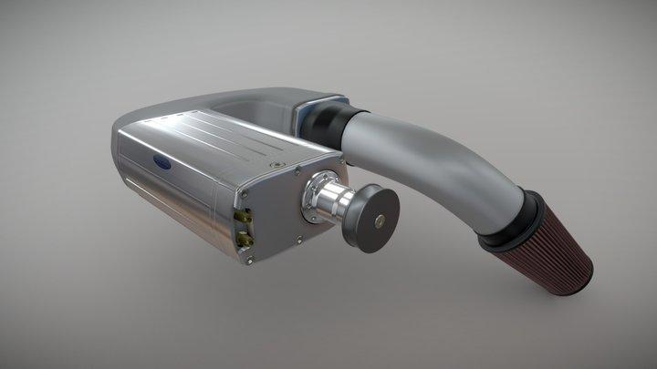 Kenne Bell Supercharger 3D Model