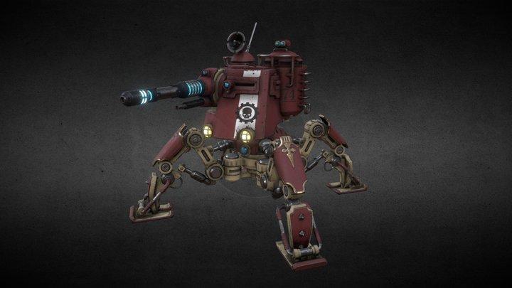 Onager Dunecrawler 3D Model