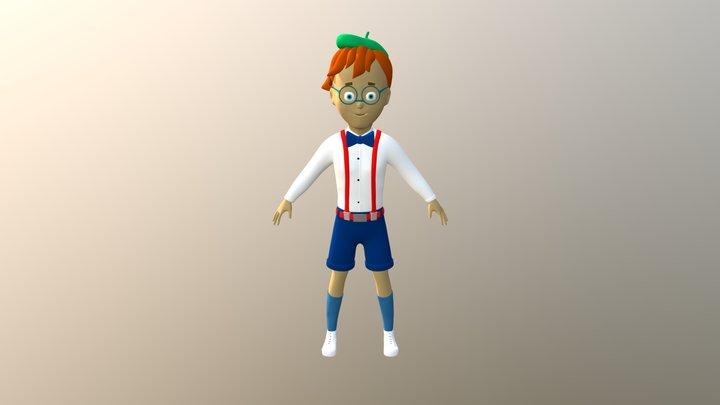 Boy 3D Model