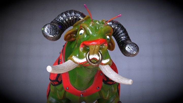 Galactic Bull 3D Model